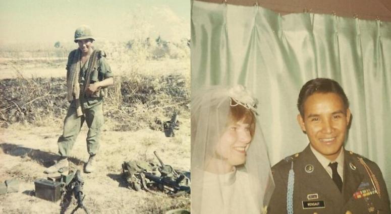 Ernie and Darlene Wensaut marry Nov. 11, 1967