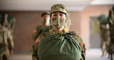 Fort Jackson New Recruit