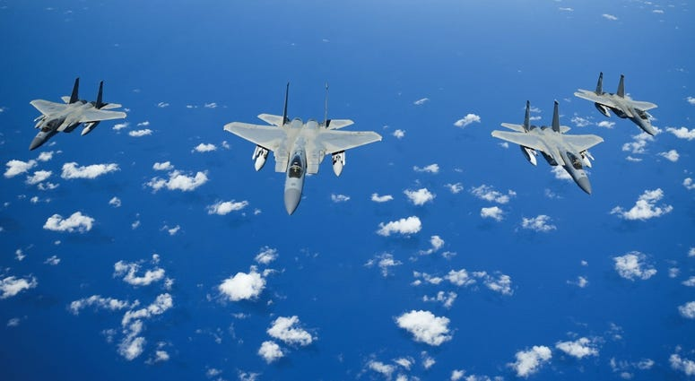 F15 fighter jets