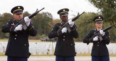 Rifle Squad, Fort Sam Houston National Cemeery