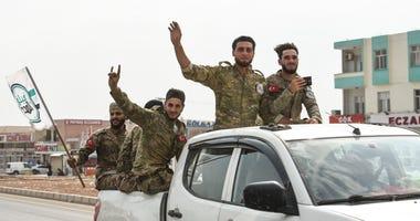 Turkish backed Free Syrian Army