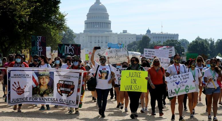 Vanessa Guillen March on Washington