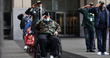 Veterans Day COVID-19
