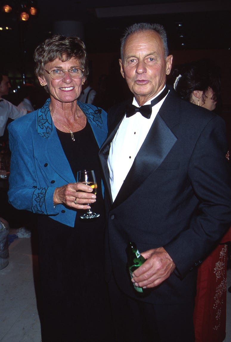 Rudy and his wife Marge