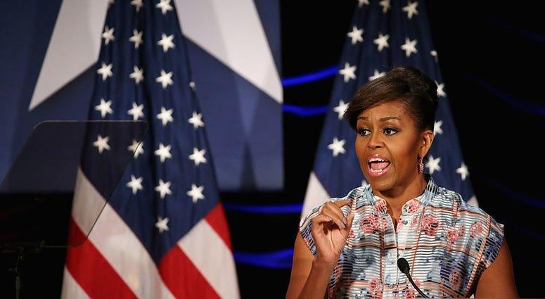 MichelleObamaElizabethDole