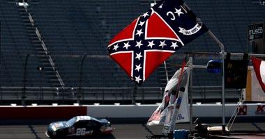 Confederate Flag at NASCAR