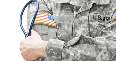 Civilian doctor joins Army to help wounded