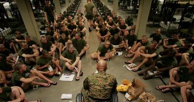 Marine Recruits Parris Island