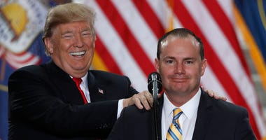 Sen. Mike Lee and Trump
