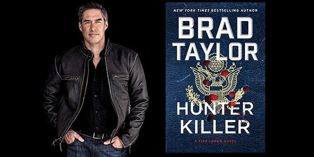 Brad Taylor, Special Operations veteran and author of Hunter Killer