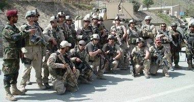 Ghafoori with a SF unit