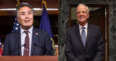 House Veterans Affairs Committee Chairman Mark Takano, D-California, and Senate Veterans Affairs Committee Chairman Jerry Moran, R-Kansas.