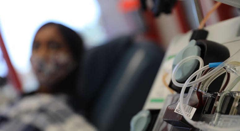 Veterans are helping VA research COVID-19 treatments by donating blood.