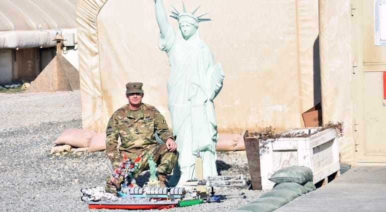 Soldiers Lego hobby keeps mind off deployment