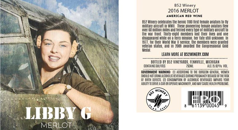Libby Wine Label