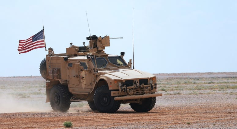Green Berets train in Syria