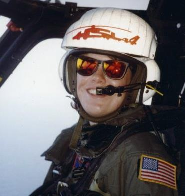How this former Navy pilot found her groove, working in the ER