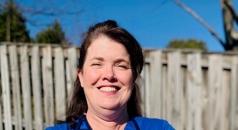 Former Navy pilot finds her groove as an ER nurse