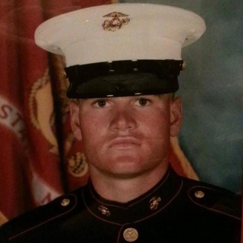 Marine Veteran Brian Tally