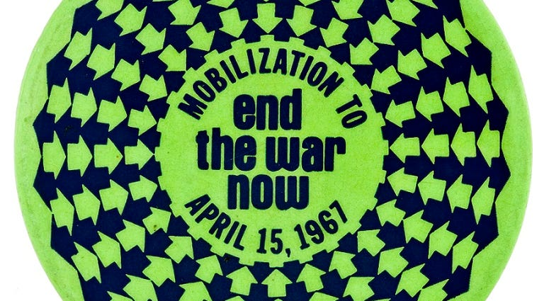 Anti-war movement protest poster