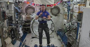 Col Morgan, International Space Station