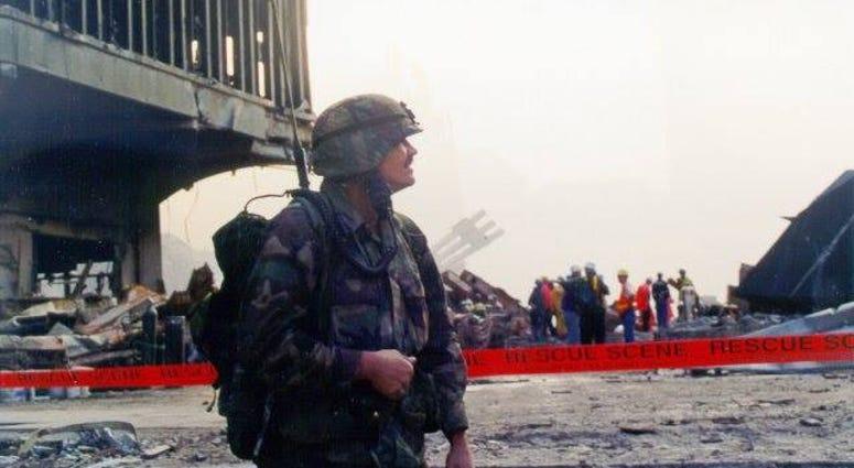 John Byrnes at Ground Zero