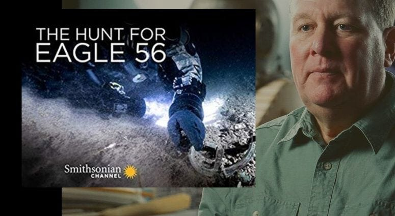 Paul Lawton, Naval Historian talks about The Hunt for Eagle 56 on Smithsonian Channel
