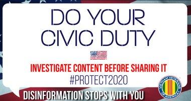 VVA Protect 2020 poster
