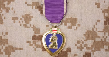 New Purple Heart flag bill proposed