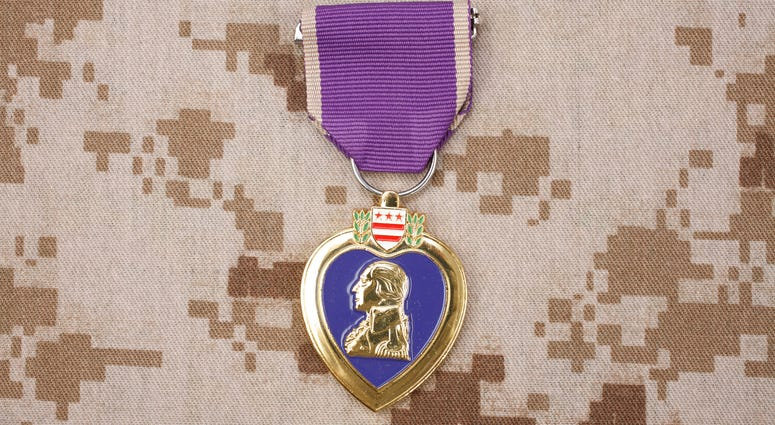New Purple Heart flag bill proposed