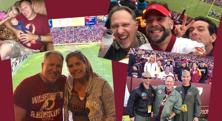 ConnectingVets Reporter Phil Briggs shares memories from Washington Redskins football games