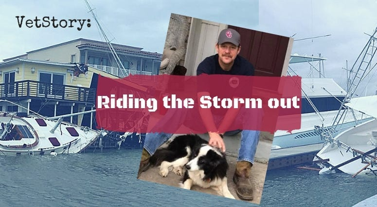 VetStory podcast episode Riding The Storm Out