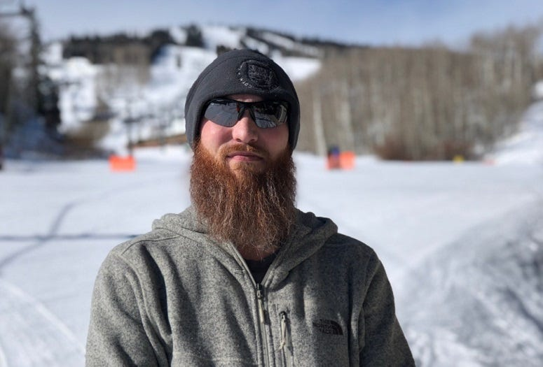 Seth Cole, 2019 National Disabled Veterans Winter Sports Clinic