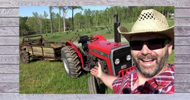 Air Force veteran Josh Draper is Stoney Ride Farmer on YouTube