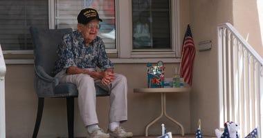 WWII vet birthday bash