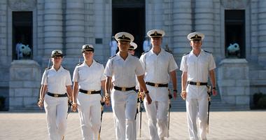 Naval Academy Formal Parade
