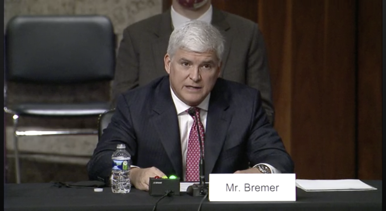 Bremer confirmation hearing