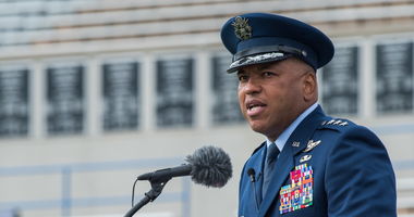 General becomes 1st Black head of U.S. Air Force Academy