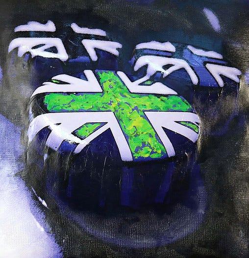 Artwork from Def Leppard drummer Rick Allen