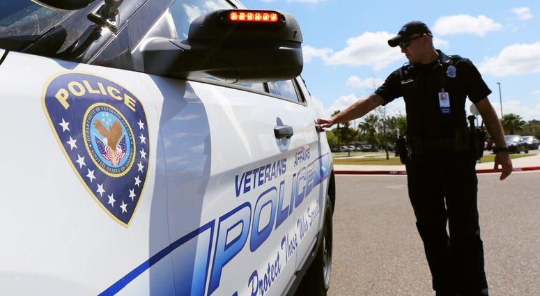 Department of Veterans Affairs police.