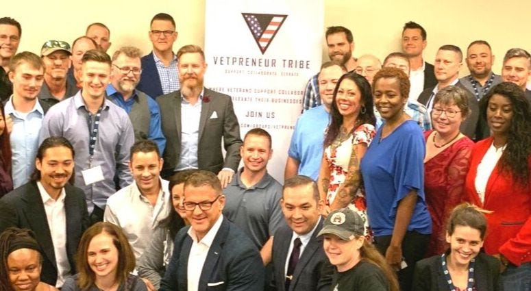 Vetprenuer Tribe at Military Influencer Conference Washington DC