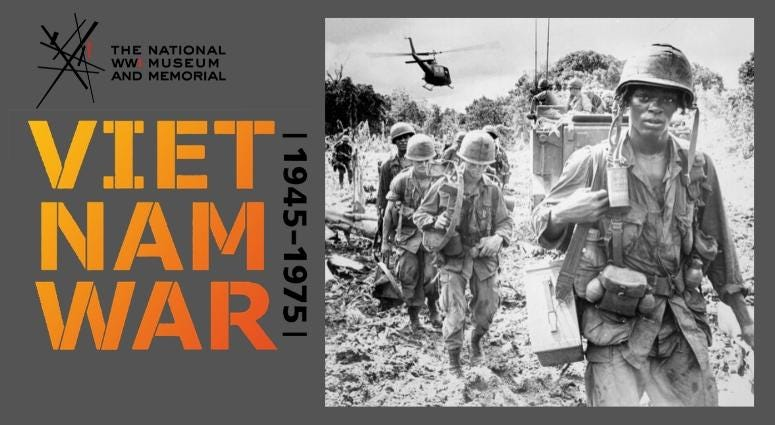 Vietnam War 1945-1975 exhibit on display at National WWI Museum and Memorial