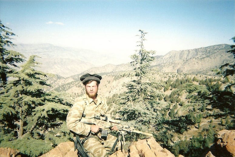 Jack Murphy ready to take the shot as a Ranger Sniper in Afghanistan