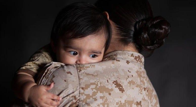 Baby and Marine