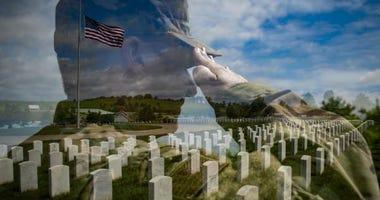 Salute over Arlington