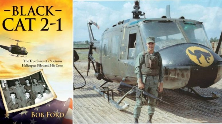 Bob Ford, Vietnam helicopter pilot and author of Black 2-1