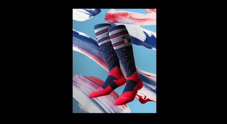 MLB will celebrate the Fourth of July with special America socks.