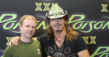 Bill Jones and Brett Michaels