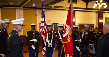 Marine honor guard