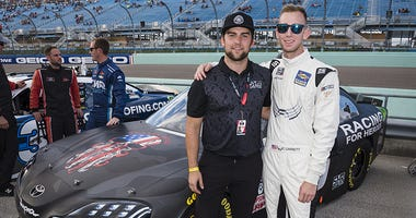 Veterans groups supported at NASCAR